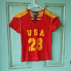 Vintage 90s USA top